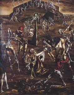 """Resurrection of the Flesh"" Salvador Dali 1940-1945"