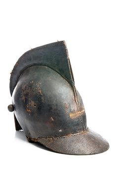 Leather helmet, late 18th or early 19th century | Flickr - Photo Sharing!