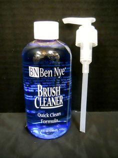 Ben Nye Brush Cleaner Quick Clean Formula BC-21 8 fl oz/236 ml