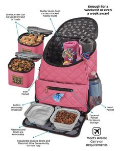 Make sure your pet is comfy on the road with the help of the Overland Dog Gear Weekender Backpack. This bag is crafted in padded quilted fabric to keep your dog comfy and loaded with storage pockets to keep all your dog's essentials handy. Puppy Room, Pet Bag, Dog Carrier, Friends In Love, Dog Mom, Small Dogs, The Help, Puppies, Backpacks