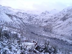 View up the valley from Maliba Lodge, Lesotho #Lesotho #Malibalodge