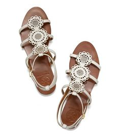 Brianna Flat Sandal   Womens Sandals   ToryBurch.com Tory Burch Flats,  Designer Sandals f2d1366cd0f3