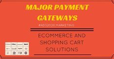 Payment Gateways in India- List of Best Companies for Payment Processing Services -Shopping #eCommerce