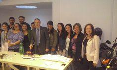 ESCOLME esta de celebración en la Sede de Bogotá, por el cumpleaños de nuestro Rector Juan Carlos Cadavid. ¡Felicitaciones en su día!