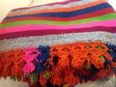 Colchas artesanales pura lana de oveja!