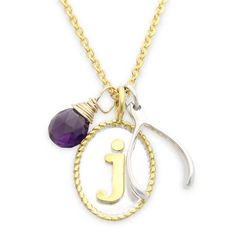 Get an A in fashion this fall with the custom charm necklace by jenny present®. Shop the complete collection at www.jennypresent.com