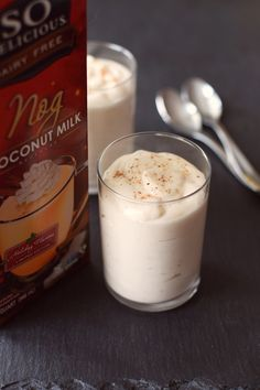 Easy Vegan Eggnog Pudding Recipe (a dessert with a whipped cream-like finish!) + 26 Sweet Ways to Enjoy the Dairy-Free Holidays
