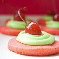 Cherry Limeade Sugar Cookies by Cyndall Taylor