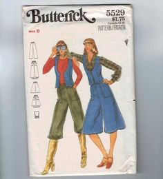 1970s Vintage Sewing Pattern Butterick by historicallypatterns, $5.00
