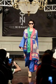 Exclusive Fall and Winter Dresses 2015 In Western Style By Nishat Linen -  WFwomen #stylish winter dresses