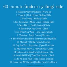 60 minute indoor cycling ride --------> http://tipsalud.com