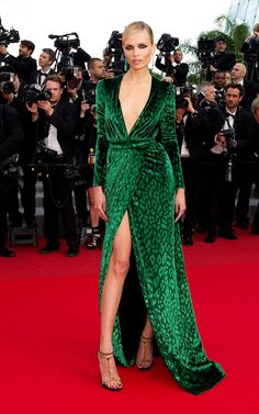 """Natasha Poly in Gucci Fall 2012 at the """"Madagascar 3″ Premier in Cannes on May 18th, 2012"""