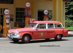 1955 Studebaker Ambulette.