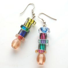 How to Make Earrings in 5 Steps: This is a great DIY jewelry project for beginners! Learn the basic steps to making beaded earrings.
