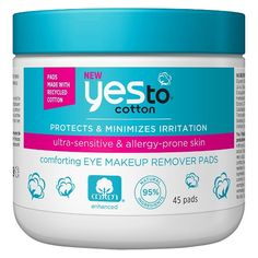 Yes to® Cotton Eye Makeup Remover Pads - 45 ct : Target
