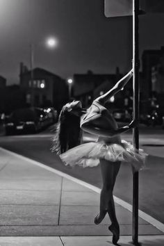 dark, night, dance, ballet, black and white, point shoes, <3