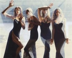 Stephanie, Linda, Claudia, Christy