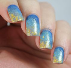 Pinspired: Gentle Gradient and Gold | Pretty Girl Science