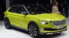 Genfer Autosalon: Vision X: Skoda stellt ein drittes SUV in Aussicht. Es handelt wsich um ein Mini-SUV. Es beinhaltet ein ungewöhnliches Hybrid-Konzept.