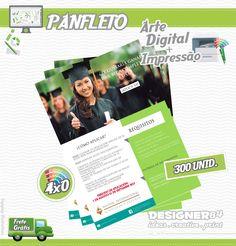 Arte+Impressão - Panfleto 13