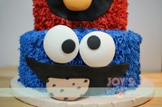 No photo description available. Elmo And Cookie Monster, Cookie Flavors, Cake Ideas, Your Favorite, Party Themes, Baby Boy, Joy, Cookies, Crack Crackers