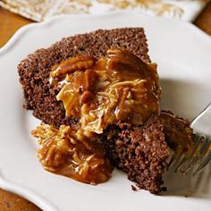 Shortcut German-Chocolate Cake