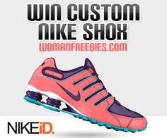 Win Custom Nike Shoes Womanfreebies Sweeps | Must Love Freebies