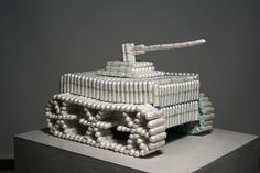The tampon tank... this obviously took some time...