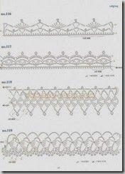 Crochet Edges And Bordures
