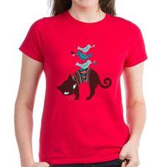 Bird Cat T-Shirt