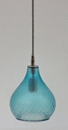 Jamie Young Company - Small Curved Cloud Pendant in Sky – Small pendant exclusive to Lamps Plus. Showroom: IHFC Interhall, Booth IH609 #hpmkt