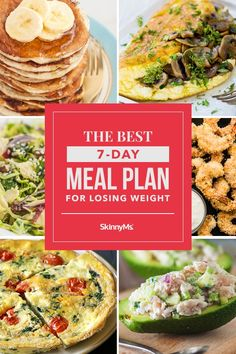 No tricks and no purchase necessary! The best meal plan for losing weight simply provides you with healthy foods that will nourish your body! Clean Eating Chicken, Clean Eating Recipes, Healthy Eating, Cooking Recipes, 7 Day Meal Plan, Meal Prep, Skinny Recipes, Healthy Recipes, Healthy Foods