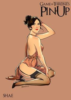 pin up fan art of shae by  Andrew Tarusov