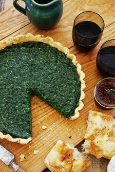 Spinach, Ricotta and Parmesan Tart