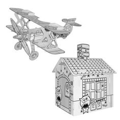 Haunted House and Airplane, 11 euros, by Villa Carton !!