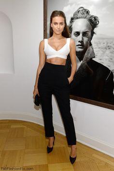 Irina Sheik at New York fashion week party