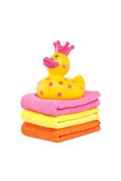 Elegant Baby | Princess Duck and Washcloth Set