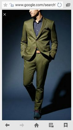 Option for olive suit