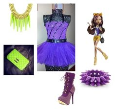 """""""Clawdeen Wolf"""" by ami-kesinger on Polyvore featuring Giuseppe Zanotti"""