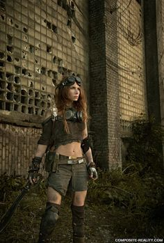 Nuclear Snail Studios Post-Apocalyptic Scenes http://geekxgirls.com/article.php?ID=1678