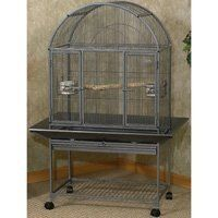 I like this cage for my canaries and parakeets.