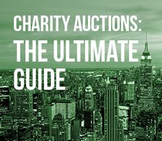 Charity auctions allow attendees to bid on items to make a donation! School Auction, Fundraising Events, Auction Items, Non Profit, Charity, Design