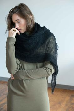 NEW Extra Long Scarf / Wrap Scarf / Delicate Shawl by marcellamoda