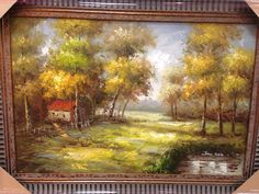 Beautiful and affordable oil paintings available at Crawford's Gifts Athens, AL