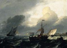 Kleine holländische Schiffe, Ludolf Bakhuizen