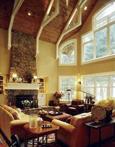 2-story great room in Architectural Designs house plan 73280HS