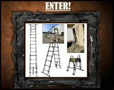 The Ladder World Ladder, House Design, Mirror, World, Frame, Home Decor, Picture Frame, Stairway, Decoration Home