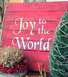 There are some industry secrets to getting perfect word stencils every time with perfectly spaced letters and no bleeding! Word Stencils, Pallet Christmas, Perfect Word, Joy To The World, Pallet Projects, Neon Signs, Words, Bathroom, Washroom