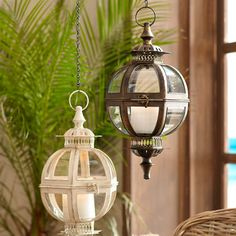 Hanging Ball Lantern - Black