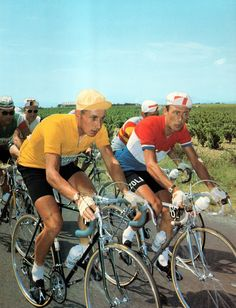 Jacques Anquetil & Charly Gaul - Tour de France 1961